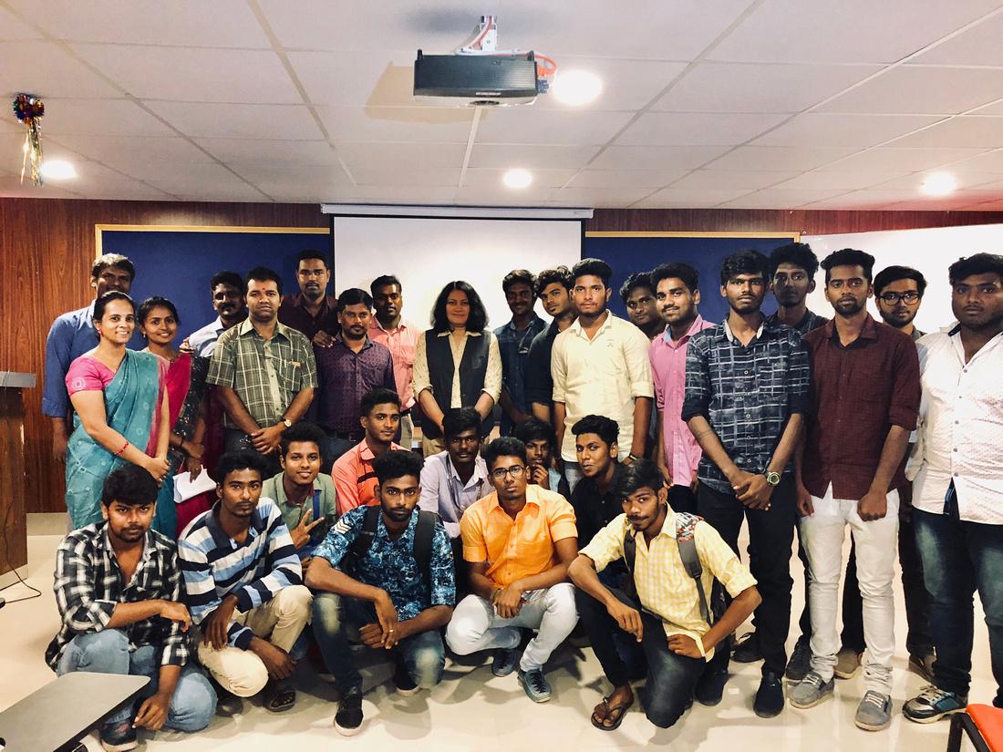 School of Media technology and communication,Vel Tech Deemed University, Chennai.